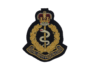 ROYAL ARMY MEDICAL BLAZER BADGE (4334346403912)