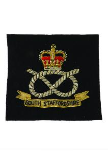 South Staffordshire Blazer Badge (4334449328200)