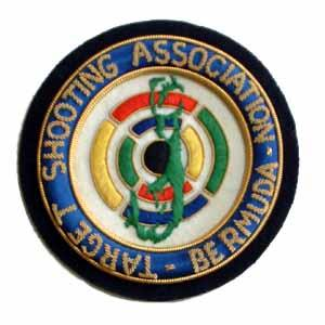 TARGET SHOOTING ASSOCIATION OF BERMUDA BLAZER BADGE (4334438842440)