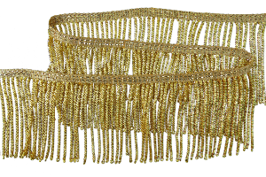 Gold Plated Bullion Fringe (2 3/4 Inch)