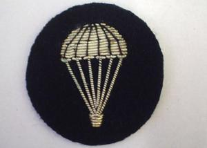 Arm Parachute with silver wings