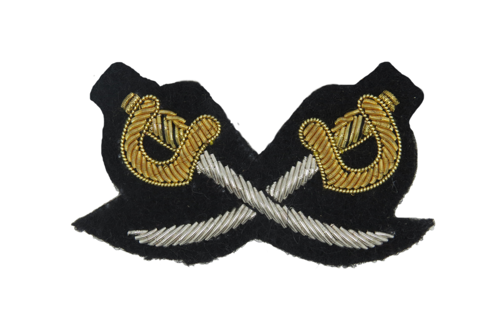 ARMY PHYSICAL TRAINING INST CROSSED SWORDS ARM BADGE (4334318256200)