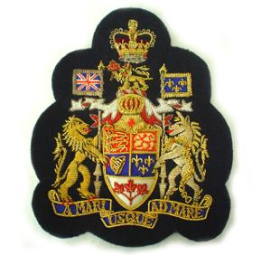 Canadian Regimental Sergeant Major Arm Badge No1 (4334413676616)