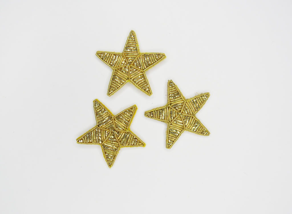 Copy of Goldwork Moon and Stars Set (5991484588211)