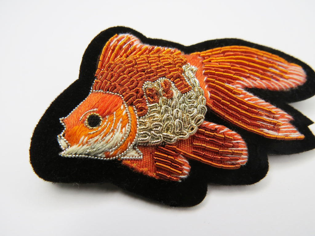 Glorious Goldfish Brooch (5777075175590)