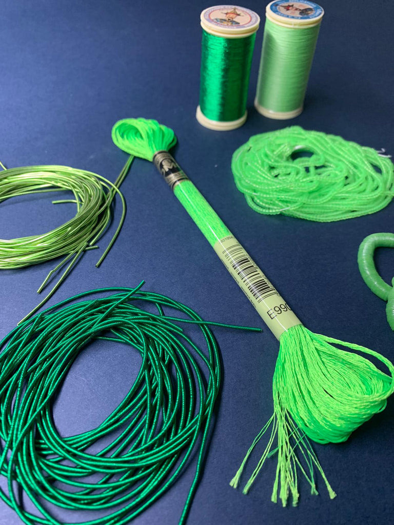 Green Embroidery Kit (4503970119752)