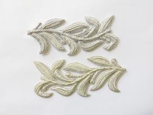 Repeat Pattern Laurel Leaf Silver (4334445625416)