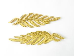 Repeat Pattern Palm Leaf Gold (4334447329352)