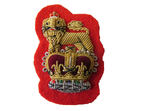 STAFF OFFICERS BERET BADGE (4334454767688)