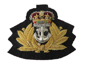 ROYAL NAVY OFFICERS BERET BADGE (4334454112328)