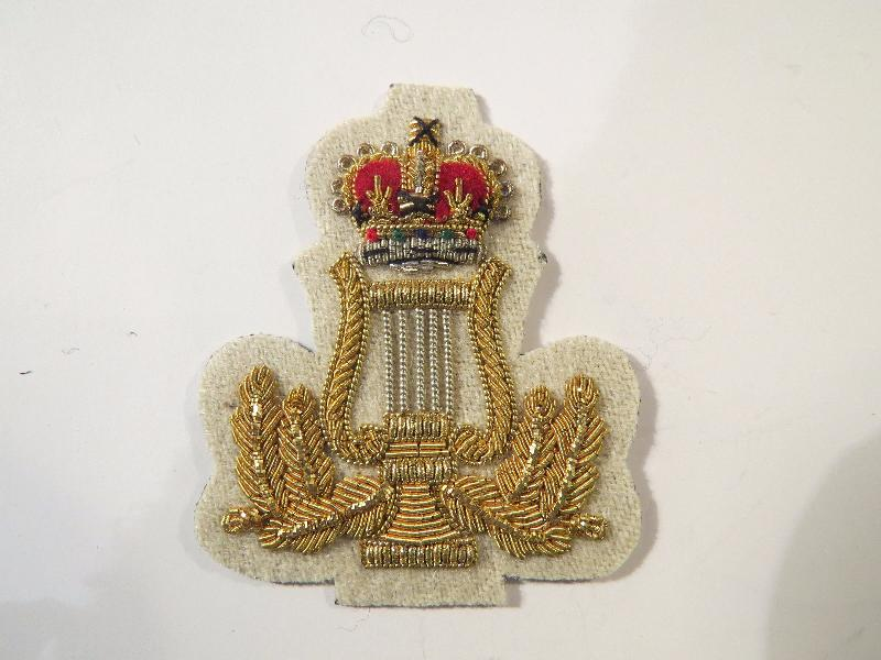 "BAND MASTER ARM BADGE 1 3/4"" (4334474592328)"