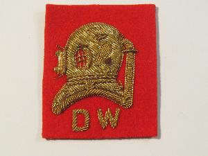 DIVERS HELM MESS DRESS S.W. OR D.W. ON NAVY OR RED (4334324482120)