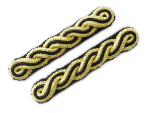 Royal Tank Regiment Shoulder Cords