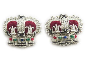 Crowns Rank 3/4 Inch Silver (4334506803272)