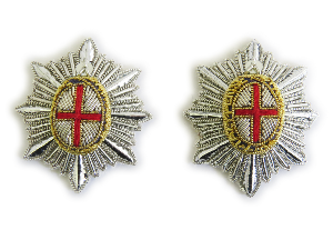 Star Rank Household Cavalry/Life Guard Silver (4334507360328)