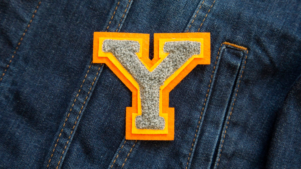 Varsity Letter 'Y' Patch (4334543765576)