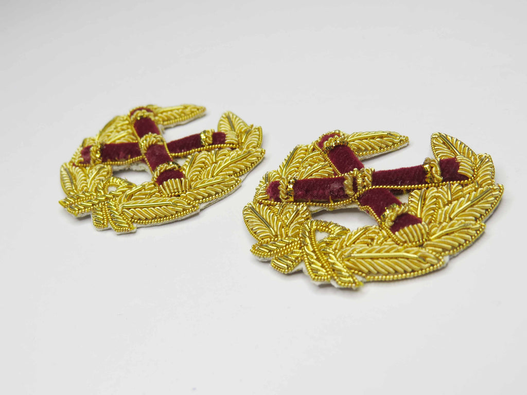 FIELD MARSHALL NO.1 DRESS RANK BADGES (4334356856904)