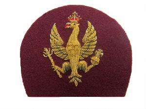 KINGS ROYAL HUSSARS BERET BADGE (4334462992456)