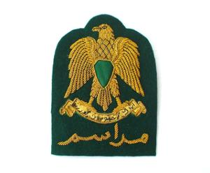 LIBYA ARAB PROTOCOL CAP BADGE (4334421508168)