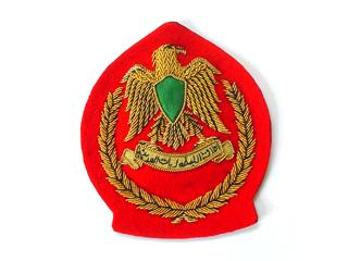 LIBYA JUNIOR OFFICERS BERET BADGE (4334422786120)