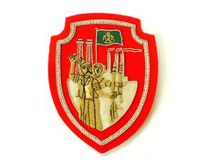 LIBYA POPULAR RESISTANCE BADGE IN GOLD (4334404075592)