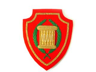 LIBYA POPULAR RESISTANCE DRUMMERS BADGE (4334403944520)