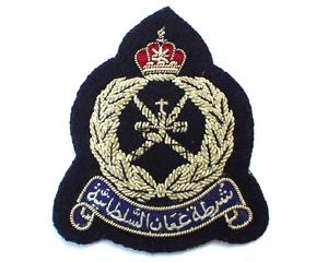 OMAN POLICE BERET BADGE (4334426292296)