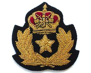 OMAN ROYAL FLIGHT MESS DRESS LAPEL BADGE (4334428225608)
