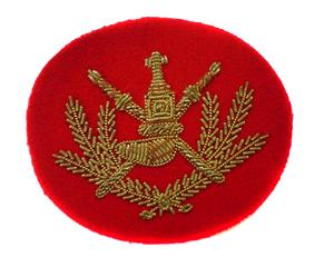 OMAN WARRANT OFFICER2 ARM BADGE (4334428979272)