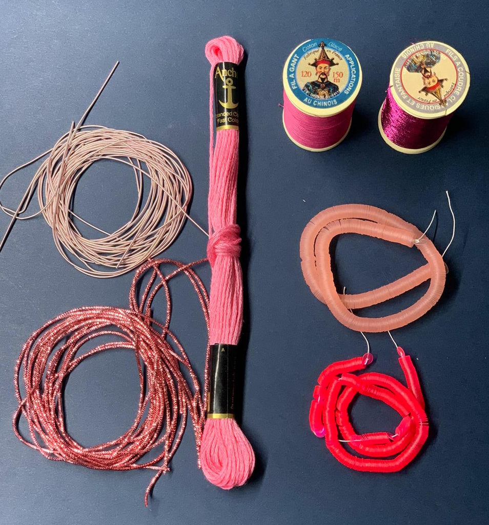 Pink Embroidery Kit (4503944495176)