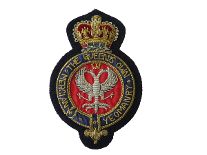 QUEENS OWN MERCIAN YEO BLAZER BADGE (4334452310088)