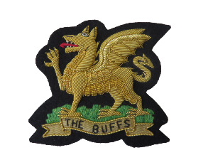 ROYAL EAST KENT REGIMENT BLAZER BADGE (4334346960968)