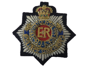 ROYAL ARMY SERVICE CORPS BLAZER BADGE (4334346600520)
