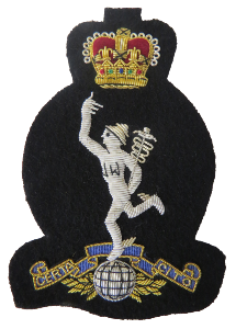 ROYAL SIGNALS BLAZER BADGE (4334347812936)