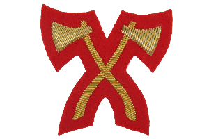 CROSSED AXES NO.1 DRESS - INFANTRY PIONEER (4334320746568)