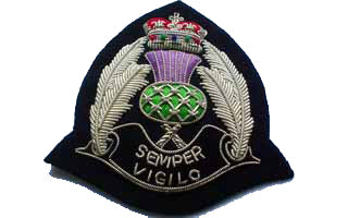 Scottish Police Cap Badge (4344136532040)