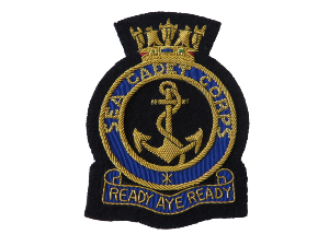 SEA CADET CORPS BLAZER BADGE (4334394277960)