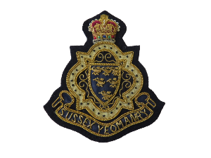 SUSSEX YEOMANRY Regiment BLAZER BADGE (4334347944008)