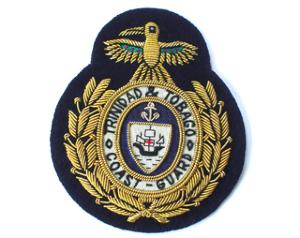 Trinidad and Tobago Fleet Chief Petty Officer's Coast Guard Cap Badge (4334432550984)