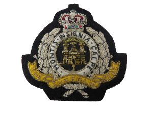 The Suffolk Regt. Blazer Badge (4334452736072)