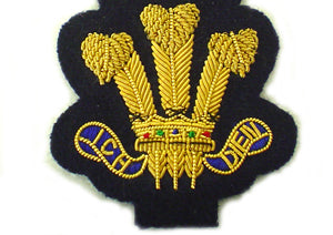 WELSH DEPUTY LORD LIEUTENANT CAP BADGE (4344132436040)