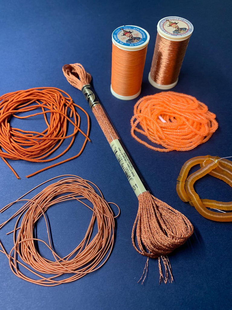 Orange Embroidery Kit (4503978311752)