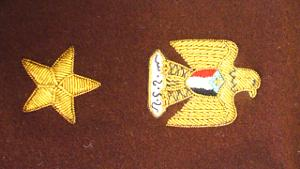 YEMEN LT. COLONEL SHOULDER STRAP EMBROIDERY (4334434582600)