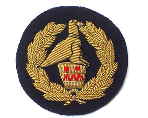 ZIMBABWE SENIOR POLICE SGT. ARM BADGE (4334435532872)
