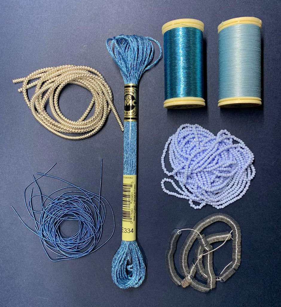 Blue Embroidery Kit (4503957078088)