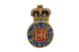 BLUES & ROYALS BERET BADGE (4334338637896)