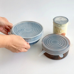 Reusable Stretchy Lids