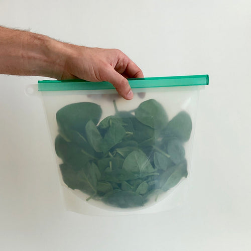 Silicone Zip Bag - Large