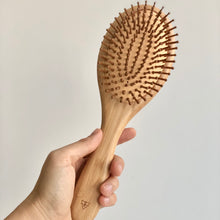 Load image into Gallery viewer, Bamboo Hairbrush