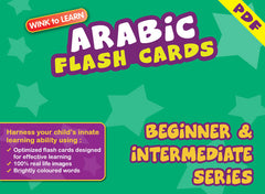 WINK to LEARN Arabic Online Digital Flash Cards Series